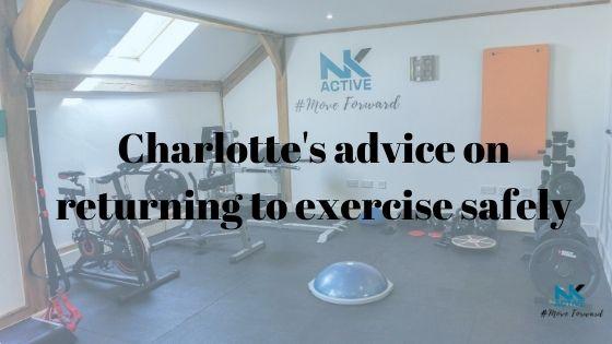Returning to exercise safely at NK Active injury rehabilitation clinic