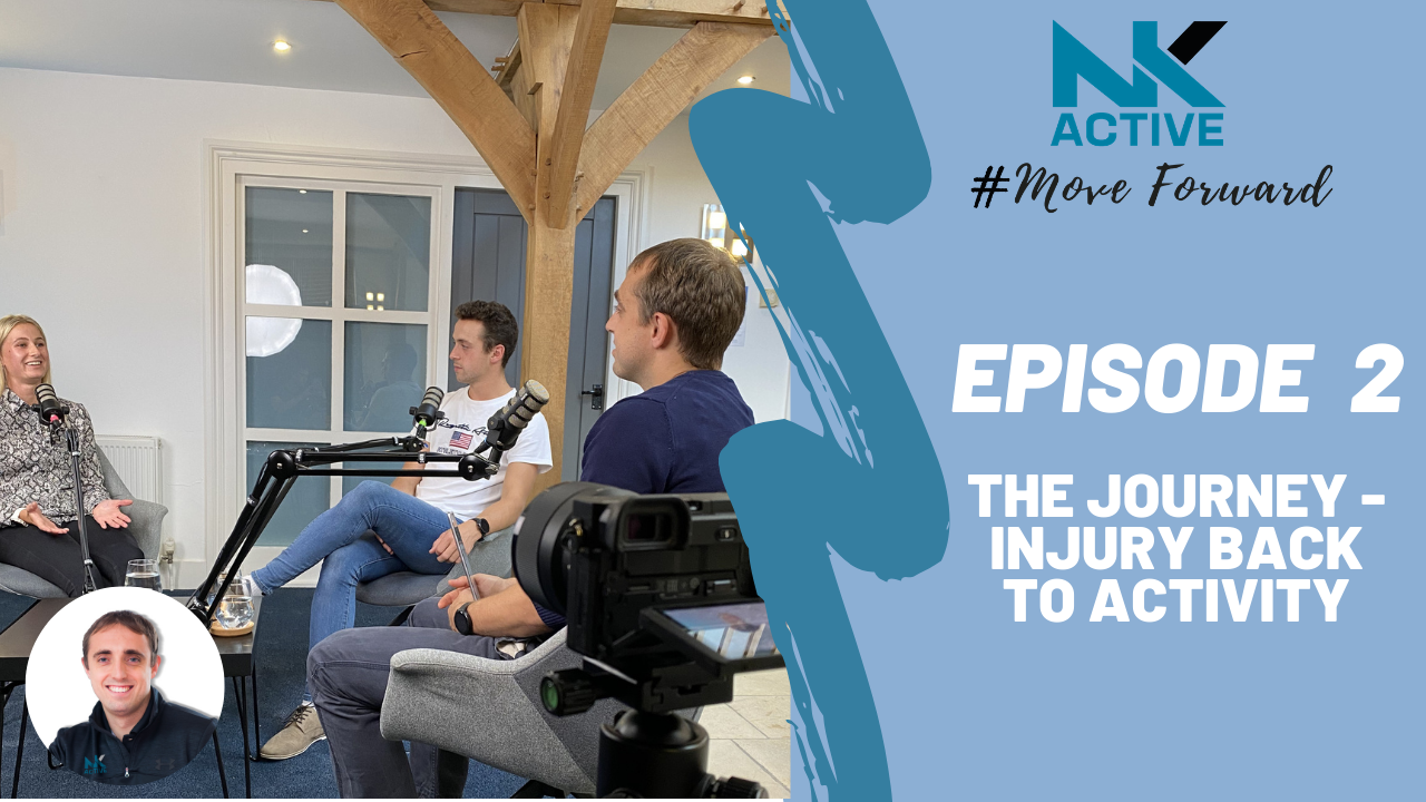 The NK Active Podcast- Injury back to activity | NK Active Sports and rehabilitation clinic