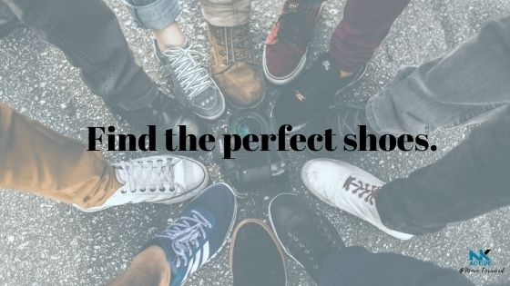 Find the perfect shoes for your feet | NK Active podiatry