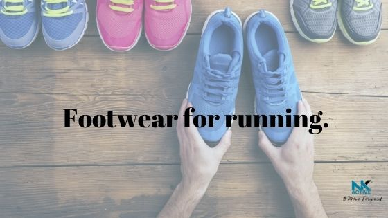 Trainers on floor best footwear for running | NK Active Hampshire based sports injury clinic