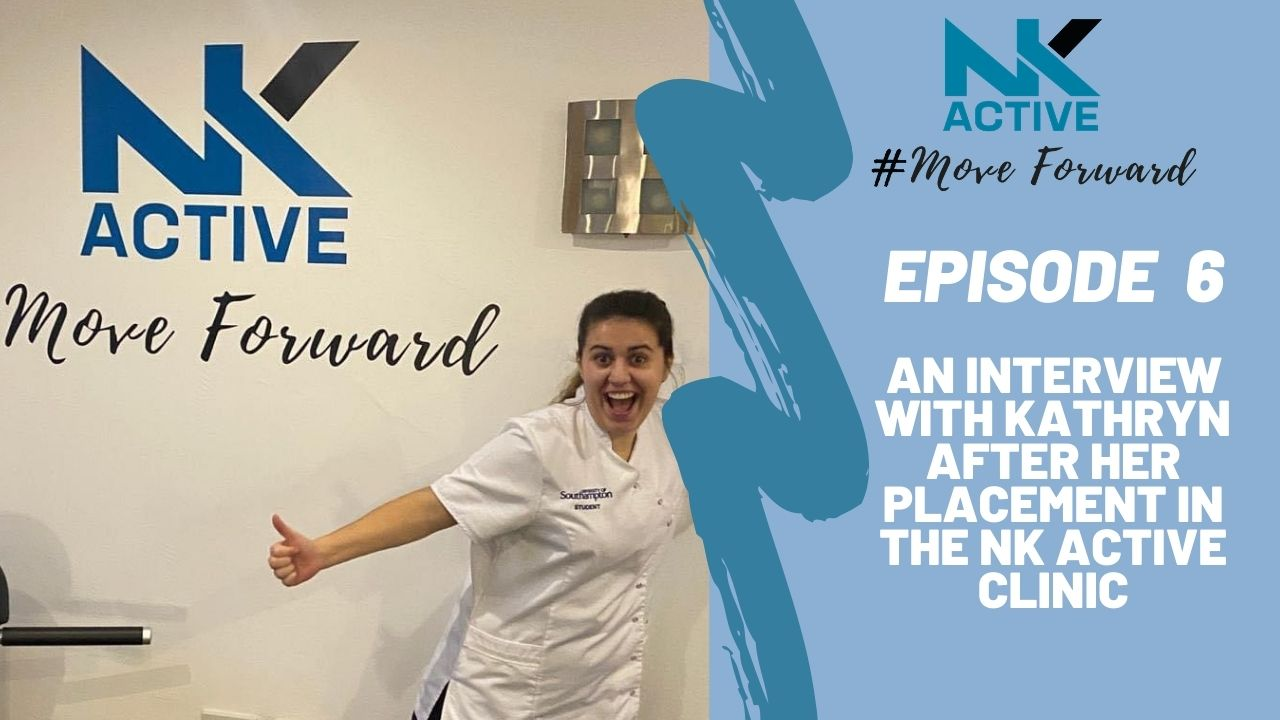 NK Active podcast interview with Kathryn about her placement at NK Active Hampshire