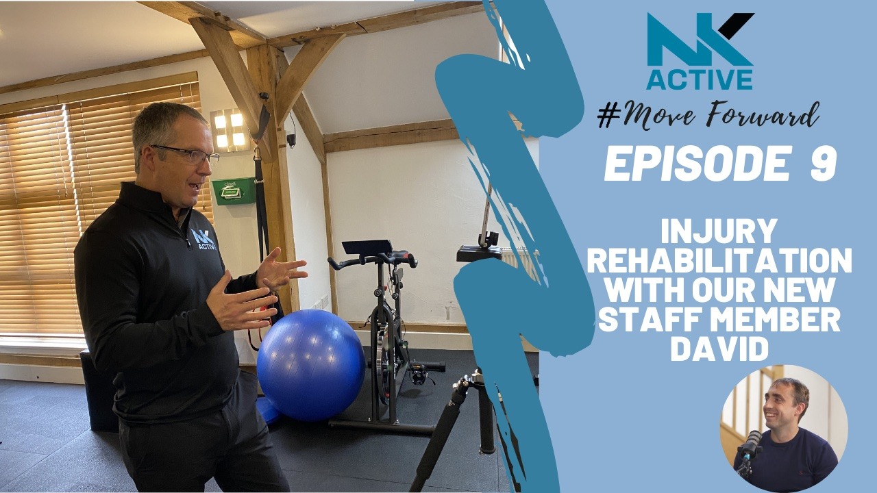 David from NK Active, Virtual physio appointment